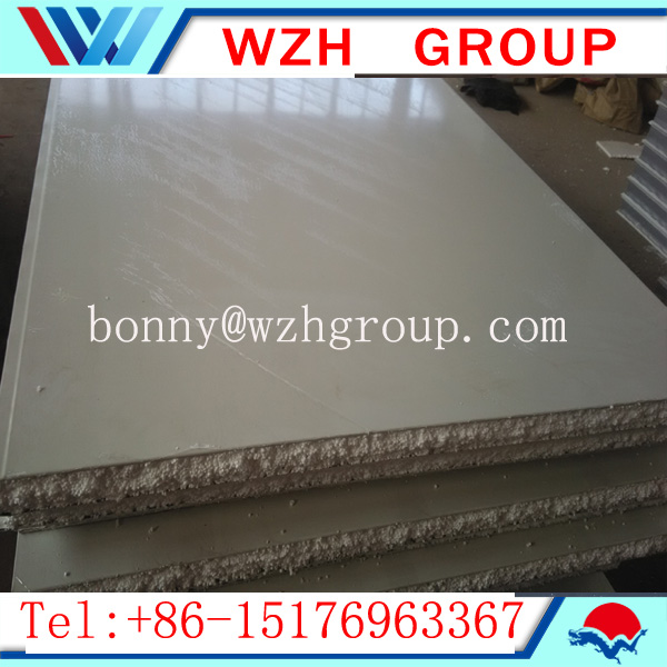 12 kg/m3 flat eps sandwich panel for cleaning room project