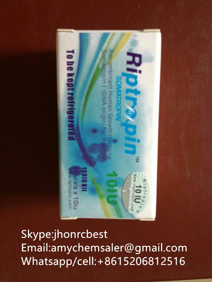 Genuine Riptropinn Supplier,100iu with anti-counterfeiting code, Riptropinn HGH