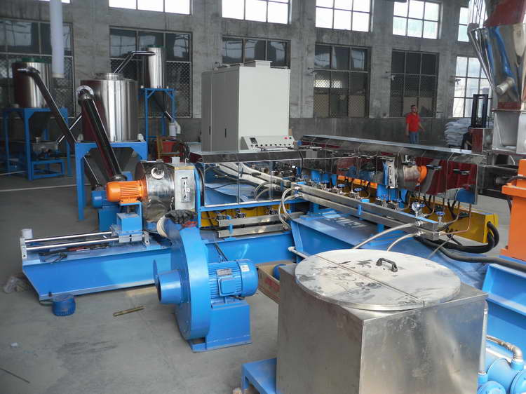 EVA granule extrusion machine-water ring parallel twin screw extruder