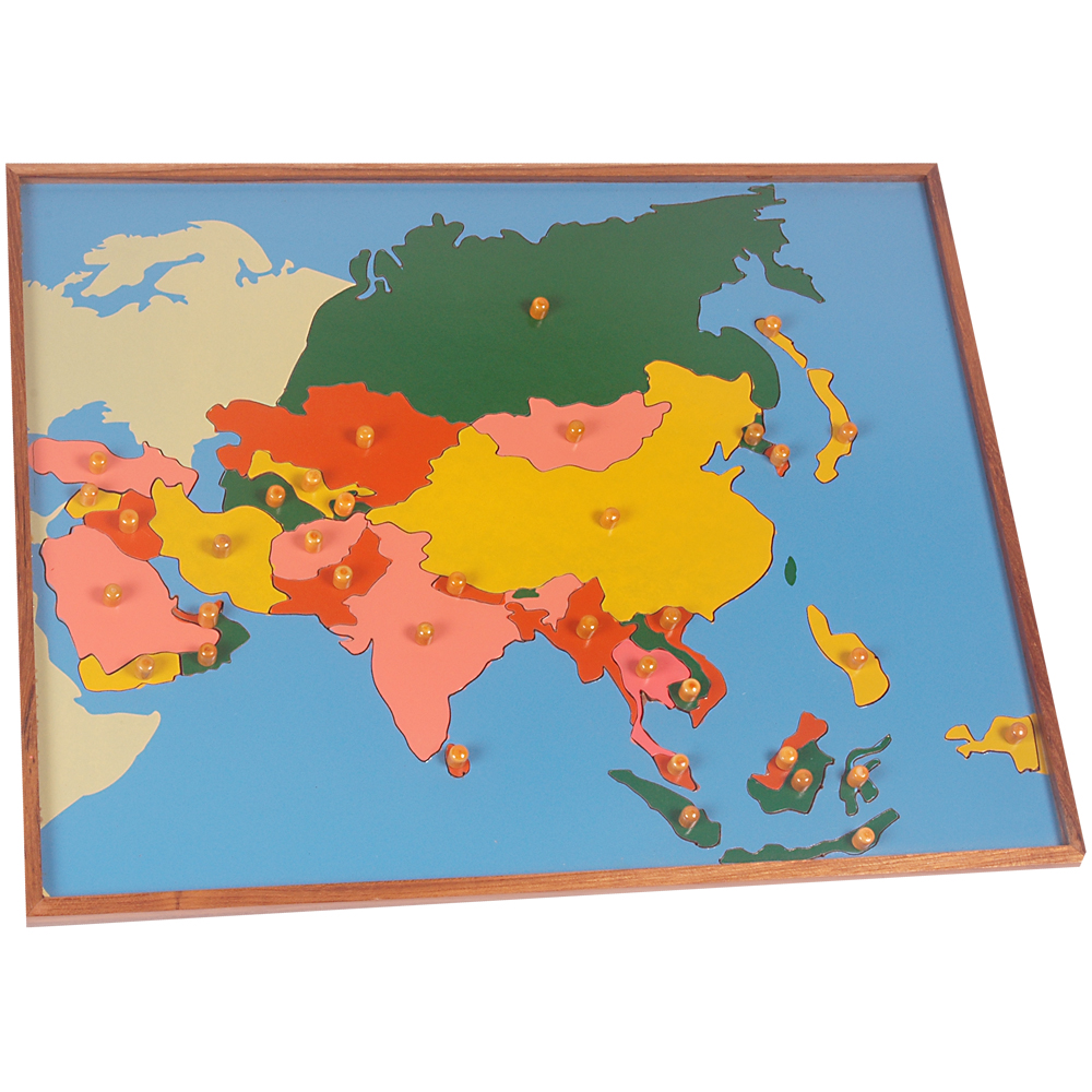 G009-Map Puzzle: Asia