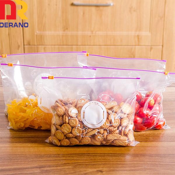 Ldpe slider bag for vegetables