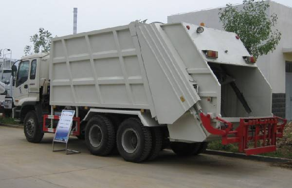 Garbage Compactor Truck ST5250ZYSK (16cbm)