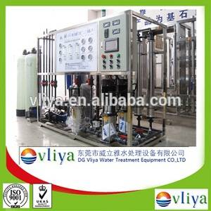 Vliya RO demineralized water treatment machine