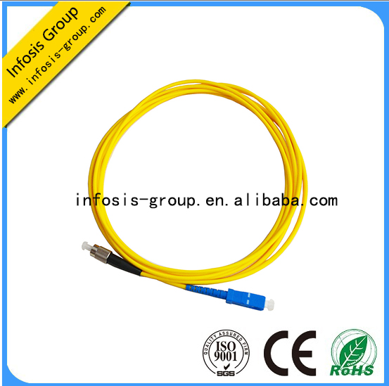 SC PC-ST PC SINGLE MODE SIMPLEX fiber OPTICAL patch cords