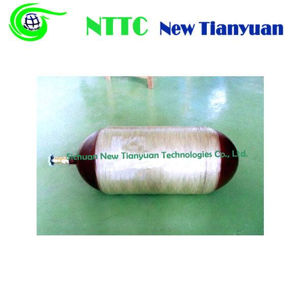 Good Quality CNG Cylinder Valves Medium Water Capacity 67L Natural Gas Storage Cyliner