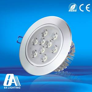 9W LED Ceiling Light Led Suspended Ceiling Lights AC90 - 264v