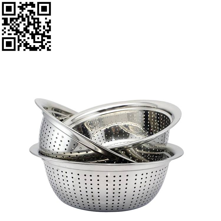 Stainless steel basin ZD-LP07