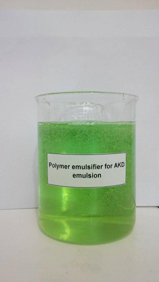 High quality polymer emulsifier for AKD emulsion