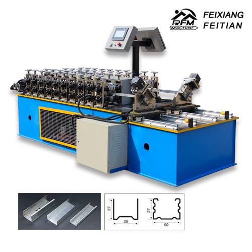 C\U Keel roll forming machine