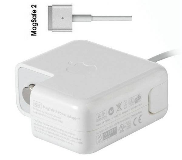 Apple 45W MagSafe2 Power Adapter for MacBook Air A1436