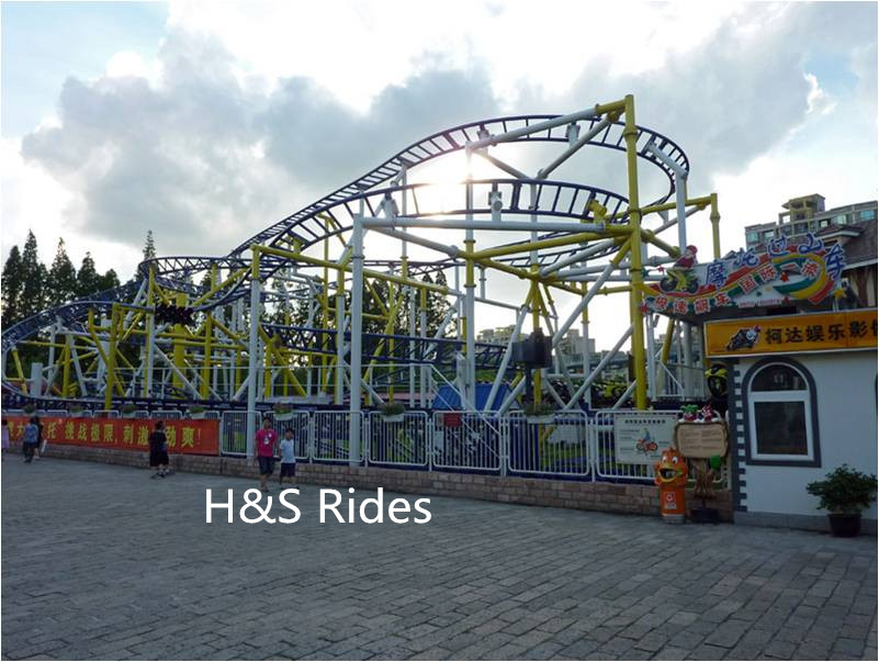 Motorcycle Roller Coaster, amusement equipment rides