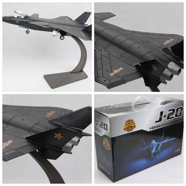 1:60 China's J-20 Figther Plane Model