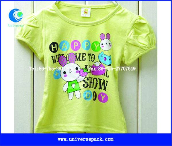 Cute printed  round neck t-shirt for baby
