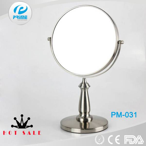 PRIME Metal double sided folding hand held mirror