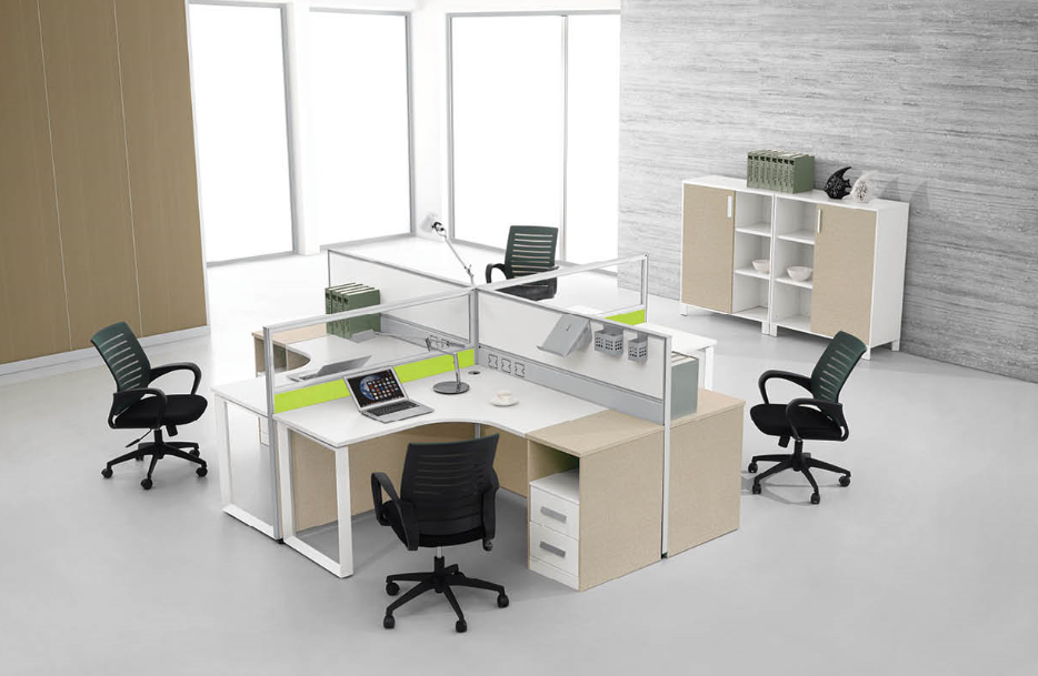 high quality office partition furniture,modern office cubicles(PG-S40-4A)