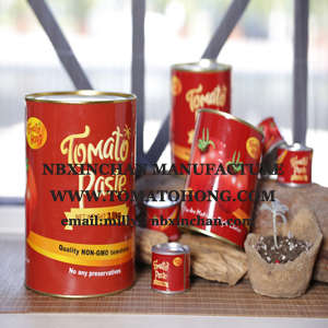 canned tomato paste tin for concentration 28-30%