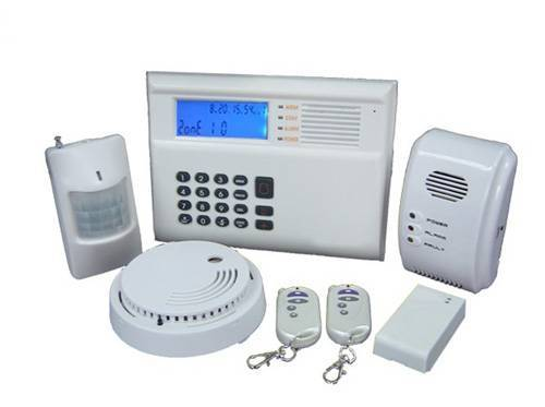 anti-thief GSM SMS alarm system for contact ID/Ademco