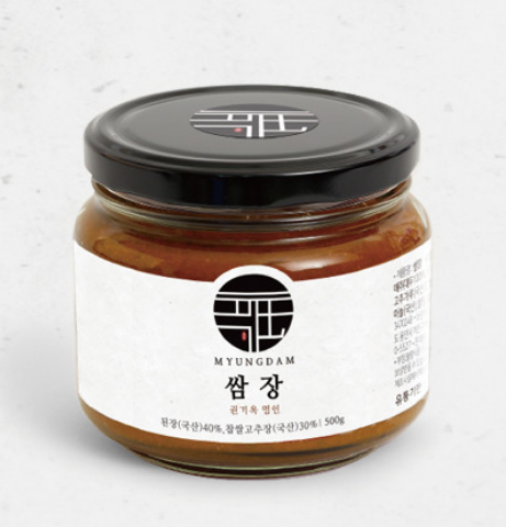 [MYUNGDAM] SSAMJANG : Korean spicy dipping sauce made from soybeans and sweet rice
