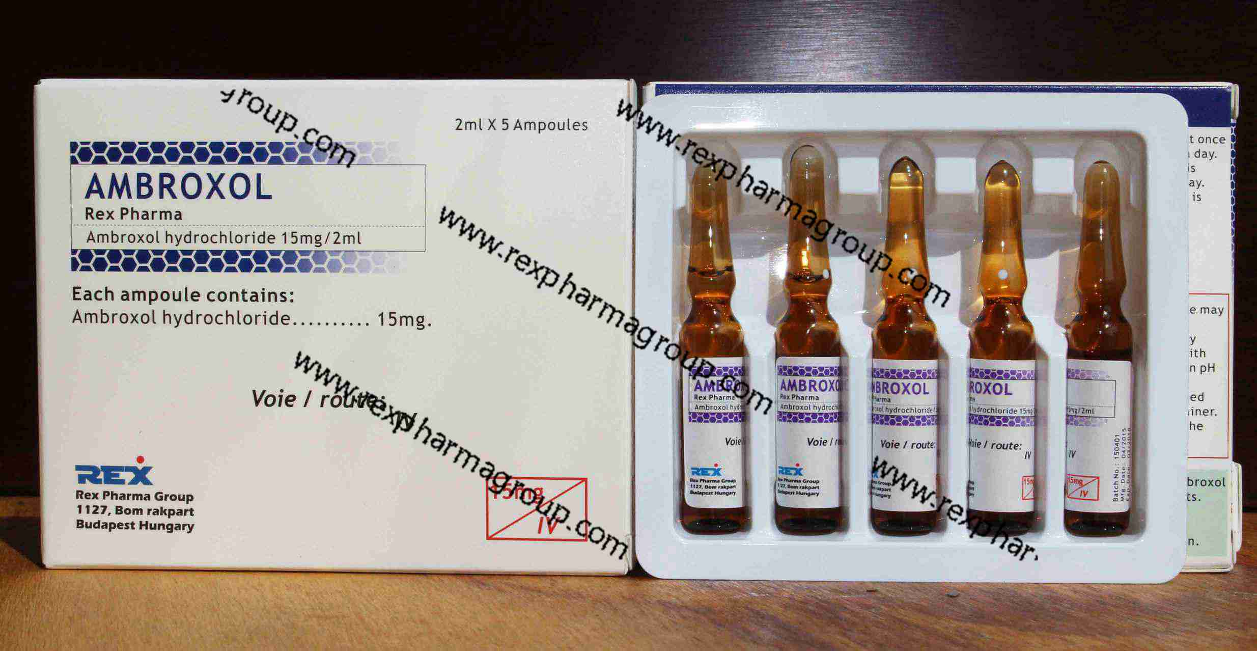 Ambroxol HCL Injection