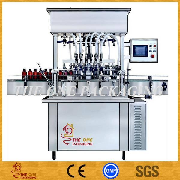 Automatic Cream Filler, Paste Filling Machine