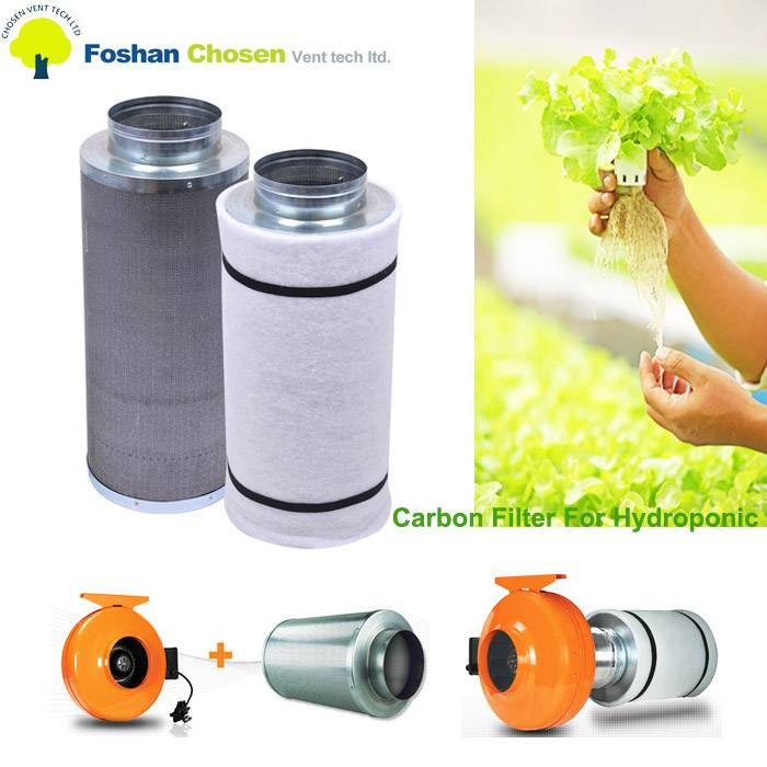 Hydroponics activated carbon air filter price/blower carbon filter