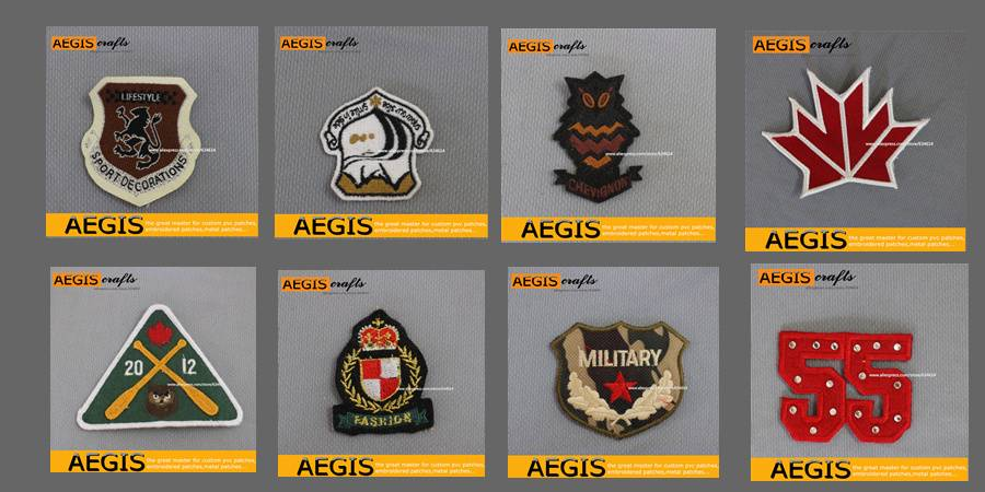 embroidery and patches