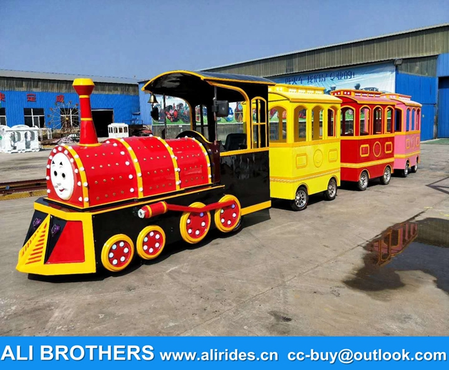 Roundhouse trackless trains birthday party for sale