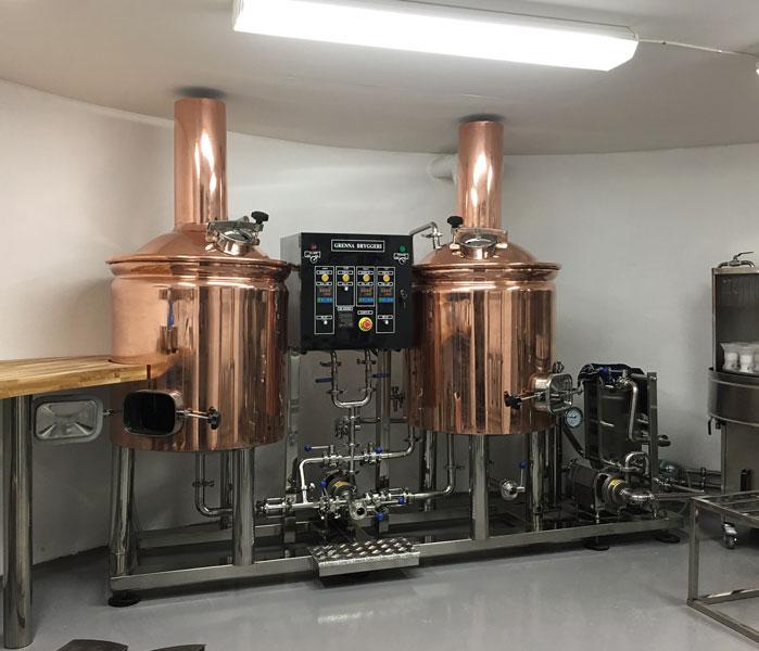200L Red Copper Brewery