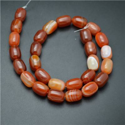 Red Carnelian Agate Beads