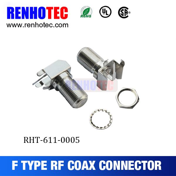 75ohm high performance F female connector