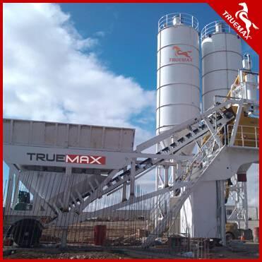 2016 Newest Truemax Mobile Concrete Batch Plant