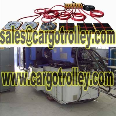 Air film transporters details