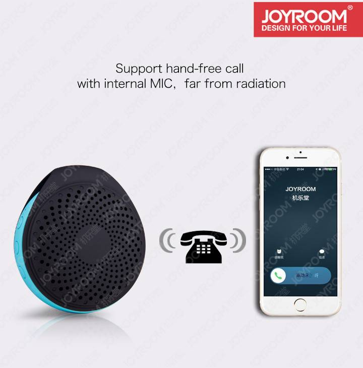 JOYROOM hot selling protable wireless mini Bluetooth Speaker