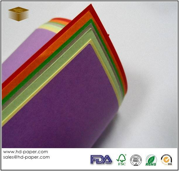 Uncoated Colour Paper Board