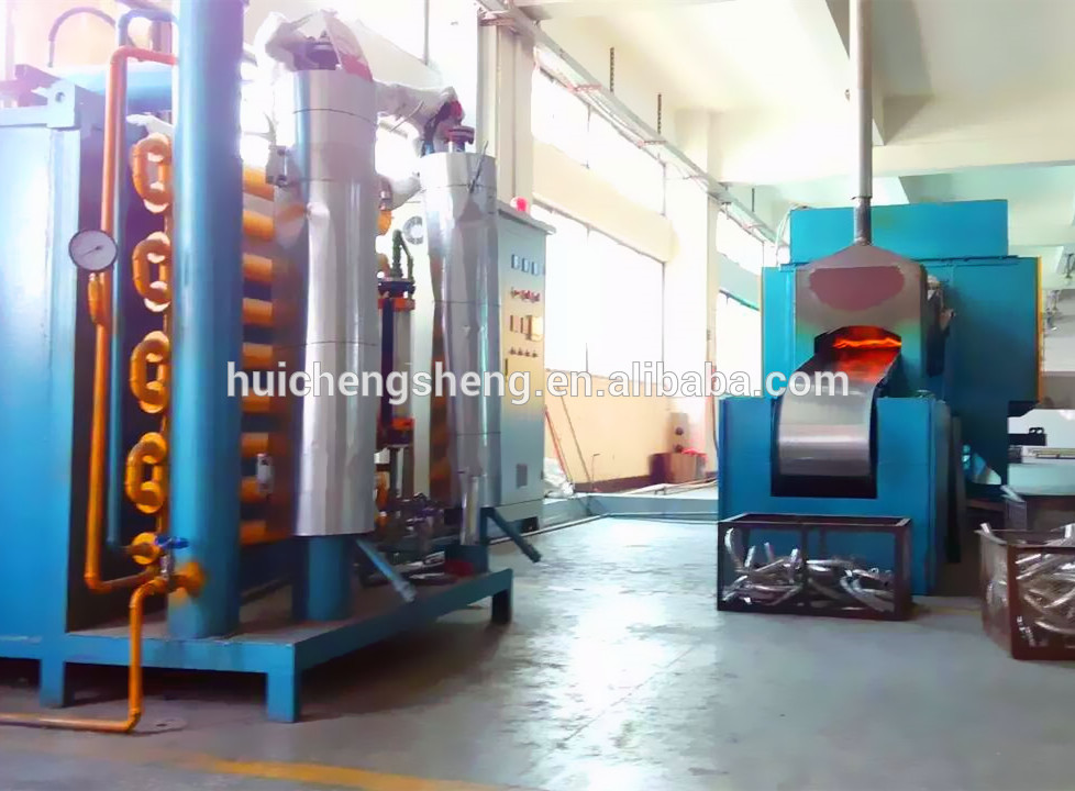 1200C high temperature electric continuous bright steel annealing process ovens
