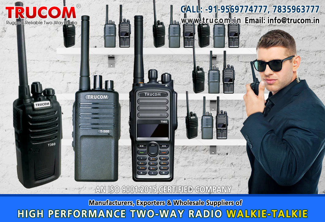 Security Walkie Talkie in India