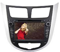 Rungrace Car DVD Player for Hyundai Solaris/ Hyundai Verna with GPS/WiFi/Bluetooth/Aux in