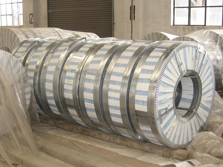 150mm width hot dipped galvanized steel strip