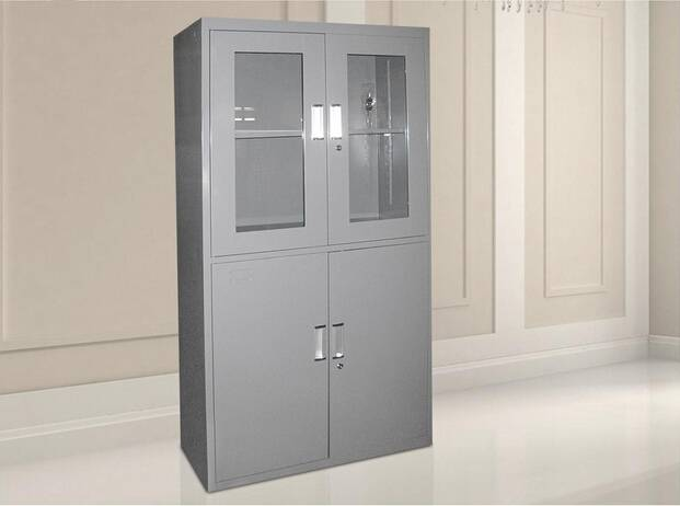 ISO9001 ISO4001 high quality up swing class 4 doors steel filing cabinet for office use
