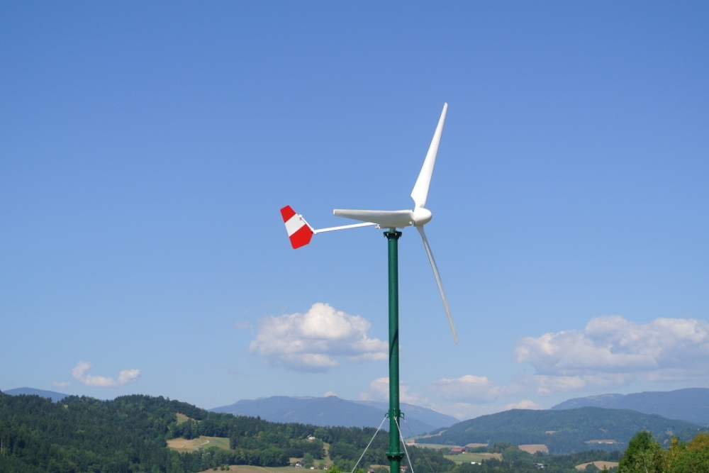 1KW permanent magnet wind turbine generator for home use