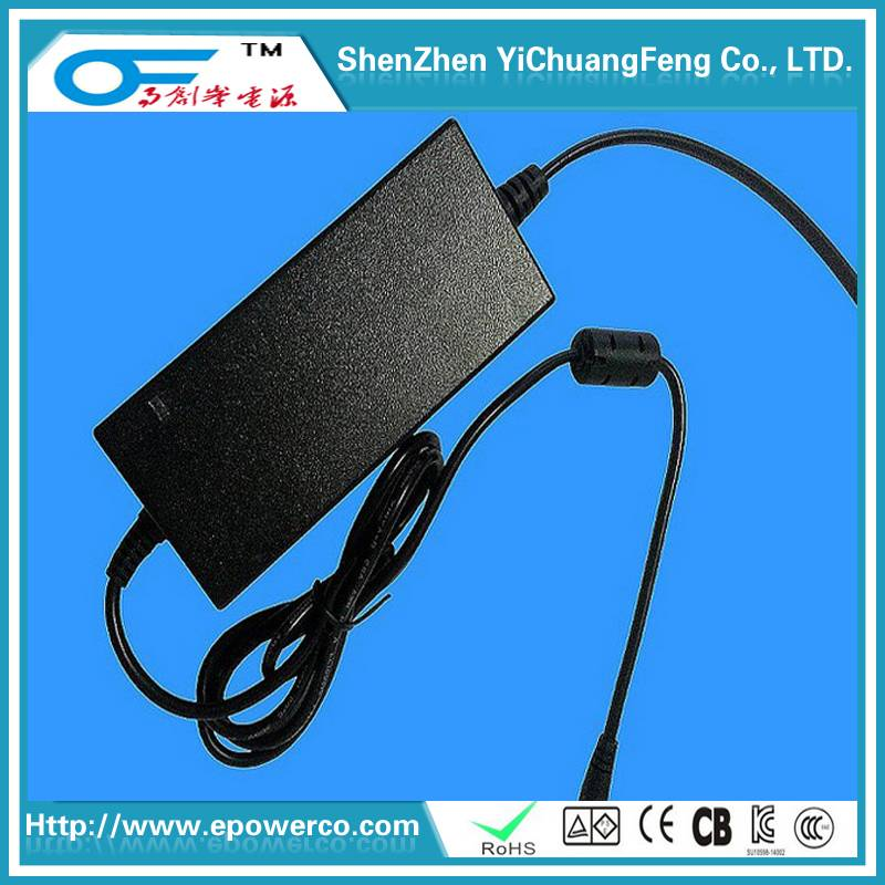 Quality 12V9.5A/12.6V4A/19V5A desktop power adapter European CE certification/United States FCC CE,