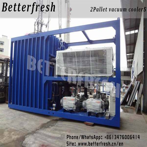 Betterfresh high temperature Rapid cooling increase shelf life Precoolers Vacuum coolers for food ve