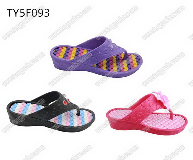 fashion accessories upper ladies finished slippers footwear