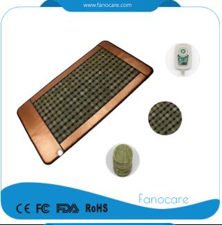 Far infared ray nugabest & ceragem similar anions therapy mattress jade mesh mat