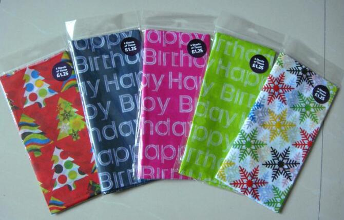 Tissue 17gsm wrapping tissue paper for clothes/silk paper for packaging/tissue silk paper