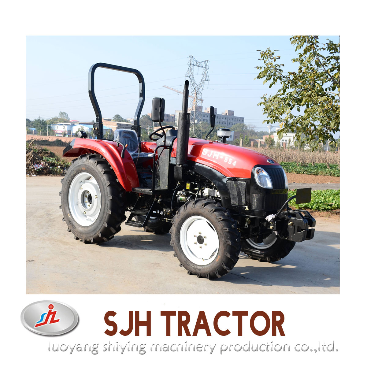 55hp Farm Tractor for Sale,Tractor In Agriculture Made In China