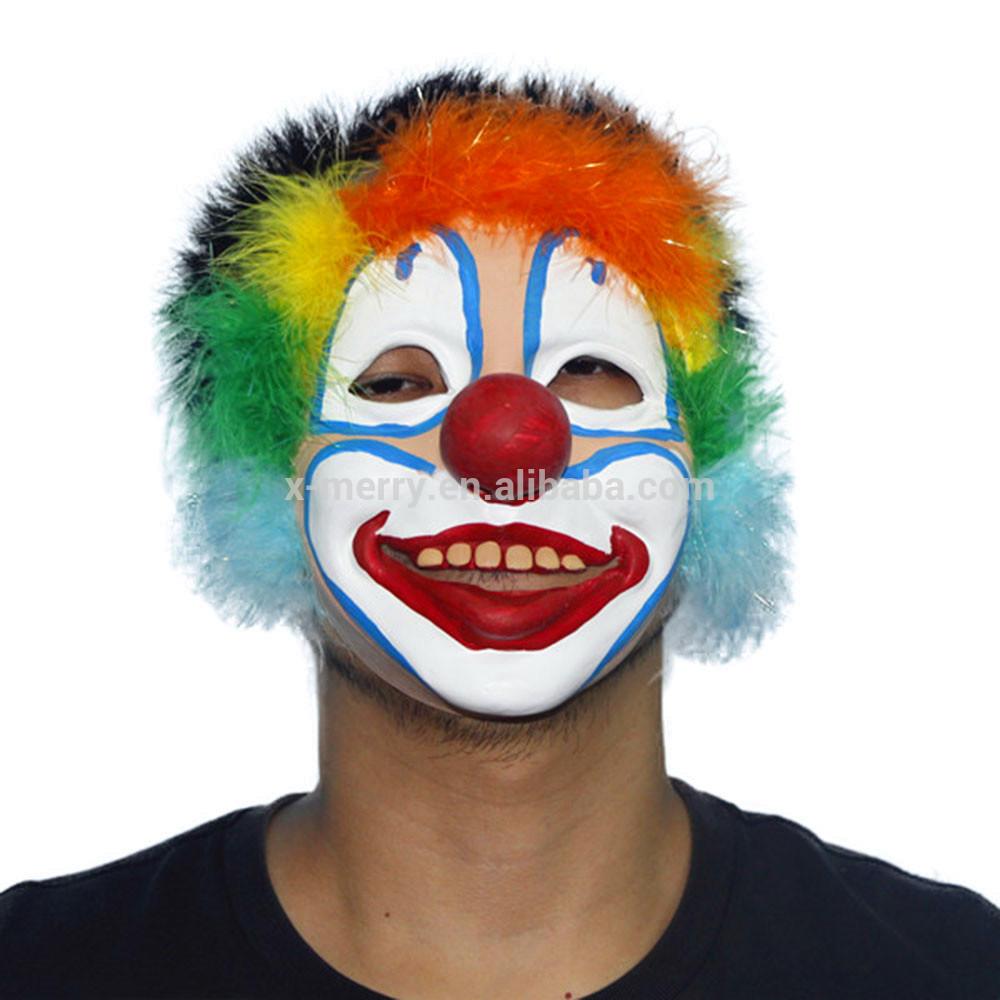 X-MERRY TOY Halloween Mascaras Scary Clown Costume Mask For Halloween Costume Decoration Crossdress