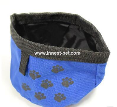 pet dog supply nylon dog bowl