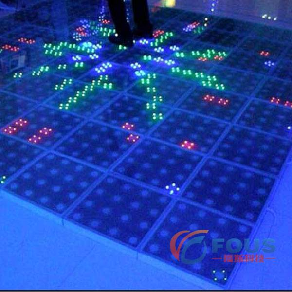 P125 LED Interactive Dance Floor / LED Dance Floor