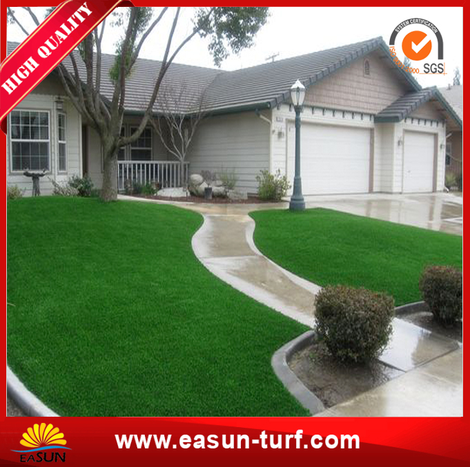 Soft Synthetic Artificial Grass for Garden Decoration-MY